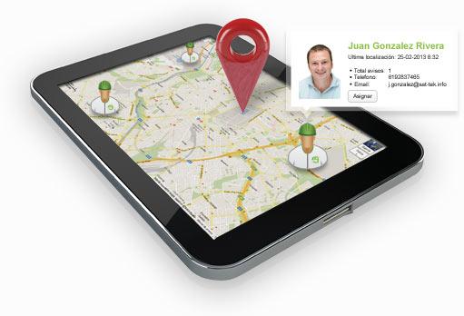 Sat Móvil, App para controlar incidencias