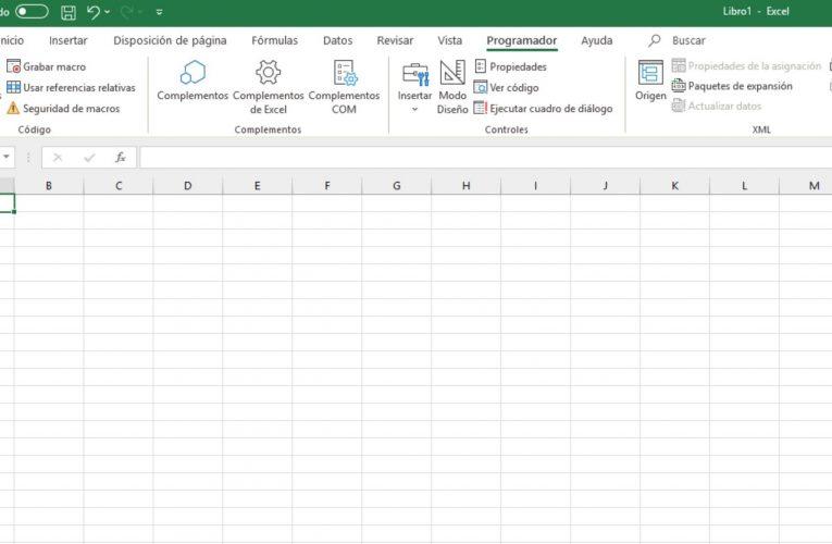 Cómo abrir Visual Basic en Excel